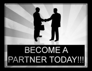 Become one of our partners