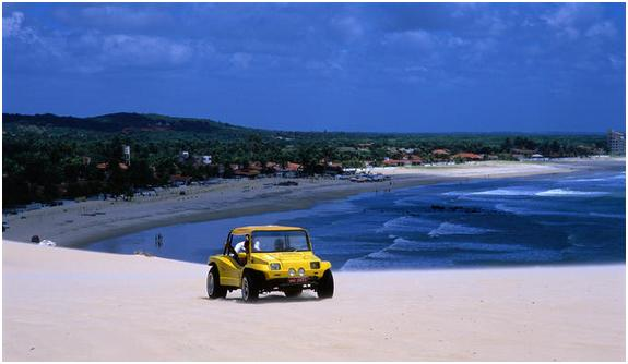 Beach Buggy in Cumbuco Dune