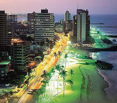 Entfernungen von Fortaleza