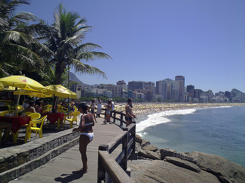 Brazil coast