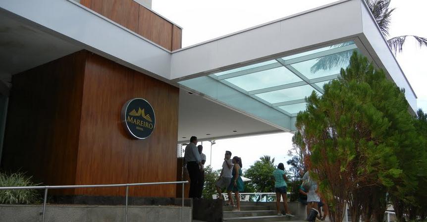 Mareiro hotel front view