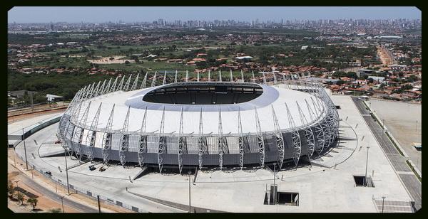 Stadion in Fortaleza (Brazil)